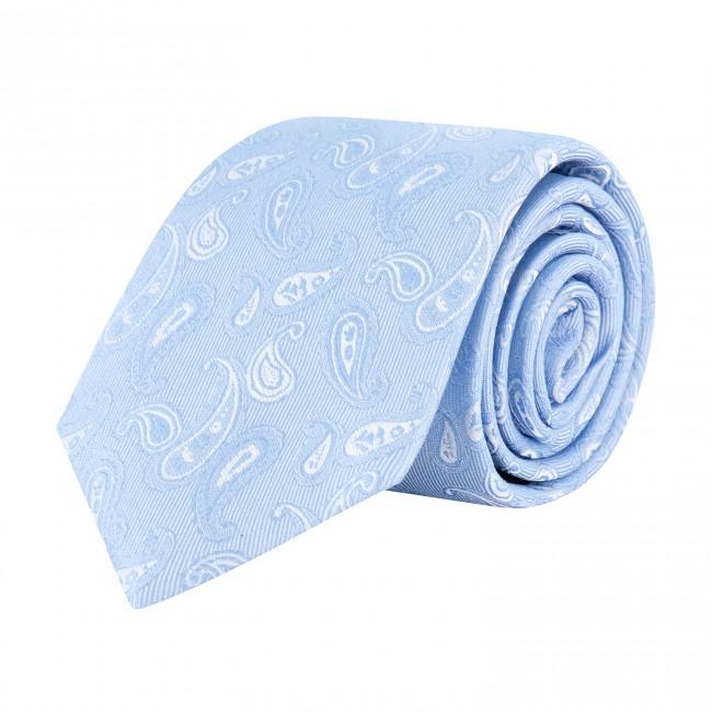 Stropdas zijde blauw 0635| GENTS.nl | Hoogste kwaliteit voor de laagste prijs