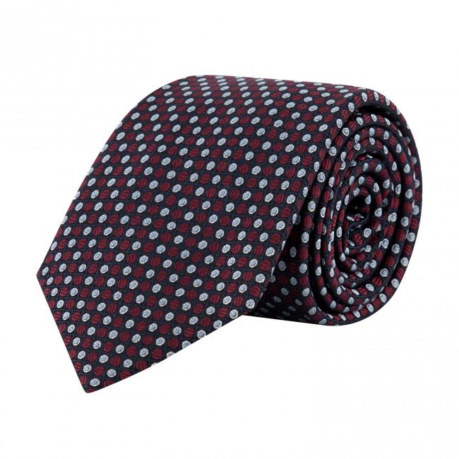 Stropdas zijde navy 0636| GENTS.nl | Hoogste kwaliteit voor de laagste prijs