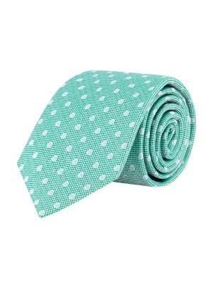 Stropdas zijde groen 0641