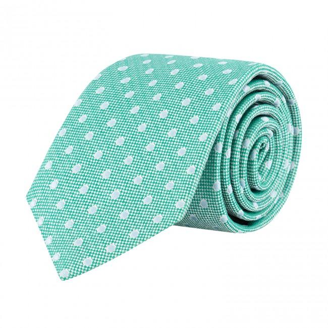 Stropdas zijde groen 0641| GENTS.nl | Hoogste kwaliteit voor de laagste prijs