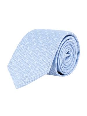 Stropdas zijde blauw 0642