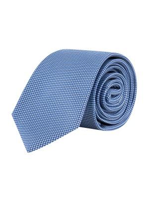 Stropdas zijde blauw 0644