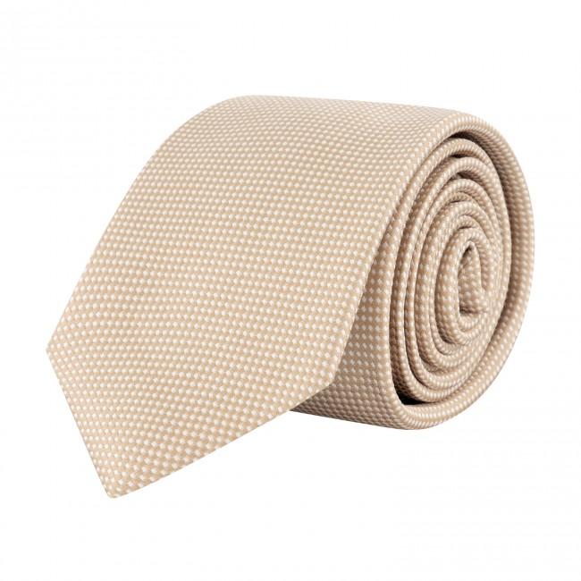 Stropdas zijde khaki 0646| GENTS.nl | Hoogste kwaliteit voor de laagste prijs