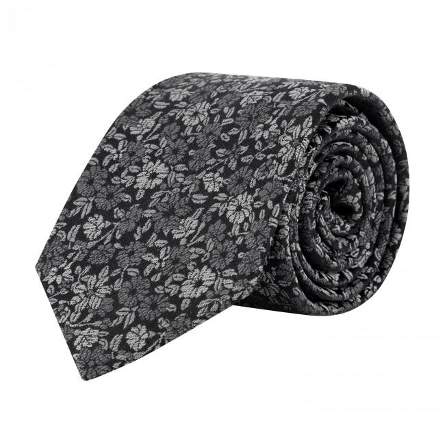 Stropdas zijde grijs 0648| GENTS.nl | Hoogste kwaliteit voor de laagste prijs