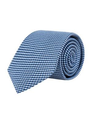 Stropdas zijde blauw 0649