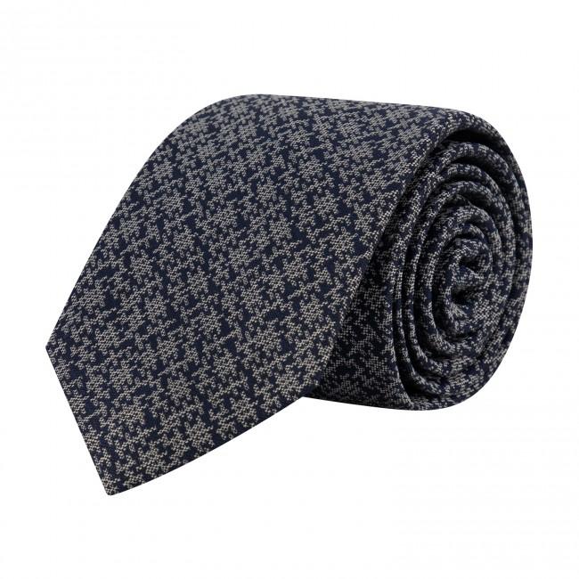 Stropdas zijde blauw wit 0651| GENTS.nl | Hoogste kwaliteit voor de laagste prijs