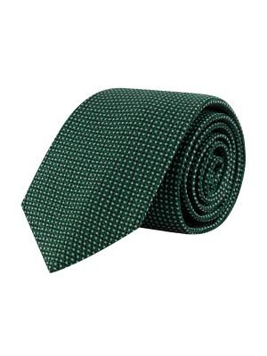 Stropdas zijde groen 0665