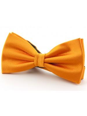 Vlinderstrik zijde oranje 0034