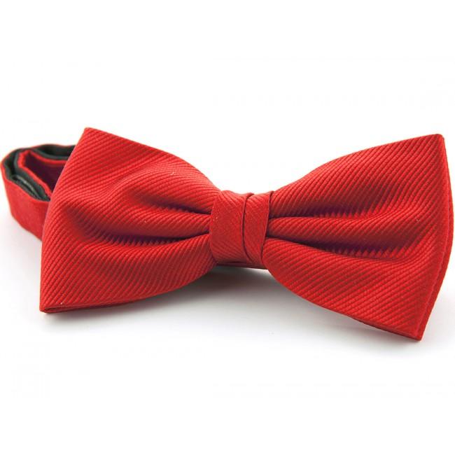 Vlinderstrik zijde rood 0037| GENTS.nl | Hoogste kwaliteit voor de laagste prijs