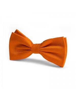 Vlinderstrik zijde oranje 0051