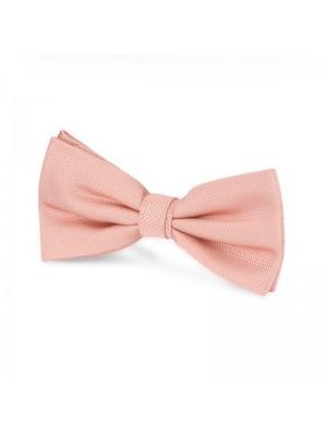 Vlinderstrik zijde roze 0054