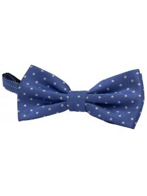 Bow-tie zijde dots 0060