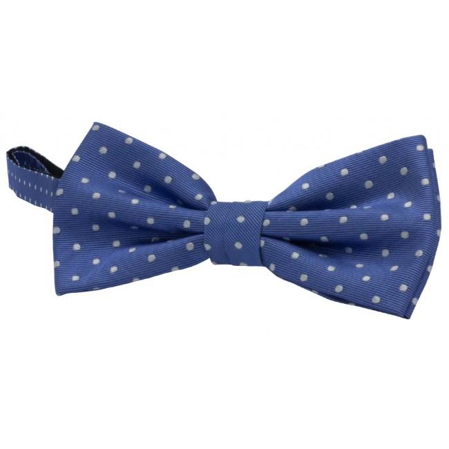 Bow-tie zijde dots 0060| GENTS.nl | Hoogste kwaliteit voor de laagste prijs