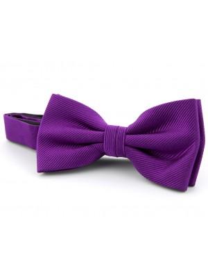 Strik zijde aubergine 0084