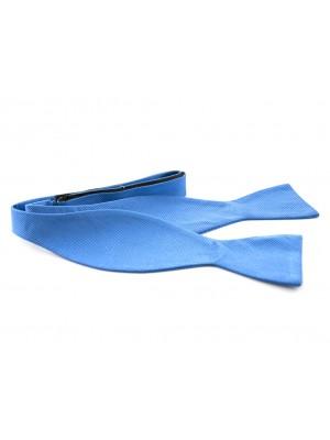 Zelfstrik blauw 0122