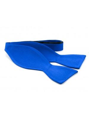 Zelfstrik zijde kobalt 0150