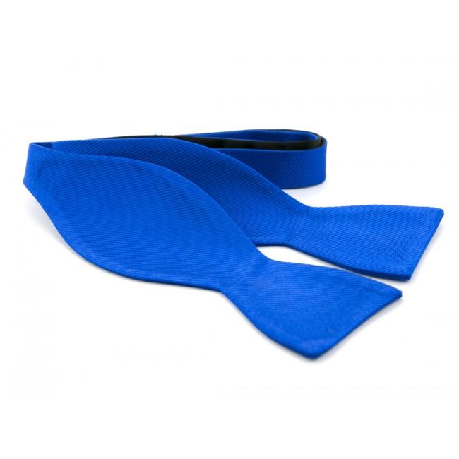 Zelfstrik zijde kobalt 0150| GENTS.nl | Hoogste kwaliteit voor de laagste prijs