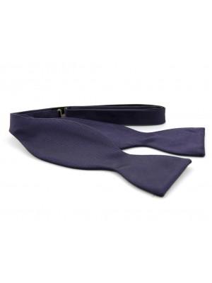 Zelfstrik zijde donkerpaars 0161| GENTS.nl | Hoogste kwaliteit voor de laagste prijs