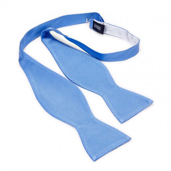 Zelfstrik zijde lichtblauw 0167| GENTS.nl | Hoogste kwaliteit voor de laagste prijs