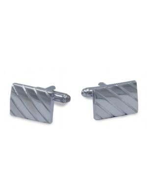 Manchetknopen Rechthoek Diago 0042| GENTS.nl | Hoogste kwaliteit voor de laagste prijs