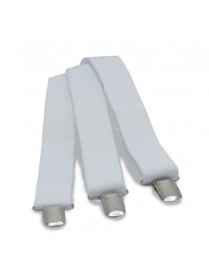 no label Bretels Bretels basis elastiek wit 0001