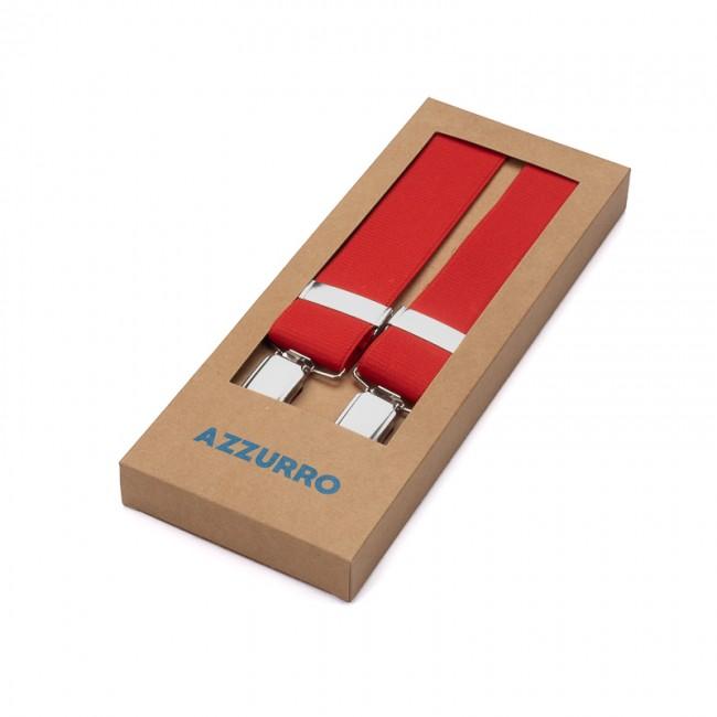 Bretels elastiek uni rood 0005| GENTS.nl | Hoogste kwaliteit voor de laagste prijs