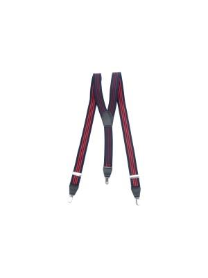Bretels streep blauw rood 0007| GENTS.nl | Hoogste kwaliteit voor de laagste prijs