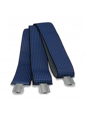 Bretels pied-de-poule blauw 0009