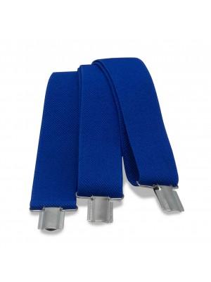 Bretels uni blauw 0011| GENTS.nl | Hoogste kwaliteit voor de laagste prijs