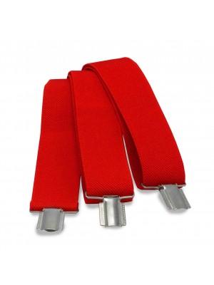 Bretels uni rood 0012| GENTS.nl | Hoogste kwaliteit voor de laagste prijs