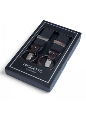 no label Bretels Bretels zwart 0020