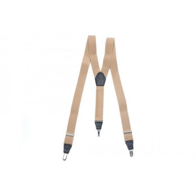 Bretels khaki 0023| GENTS.nl | Hoogste kwaliteit voor de laagste prijs