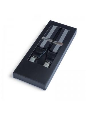 Bretel zwartgrijs 0028