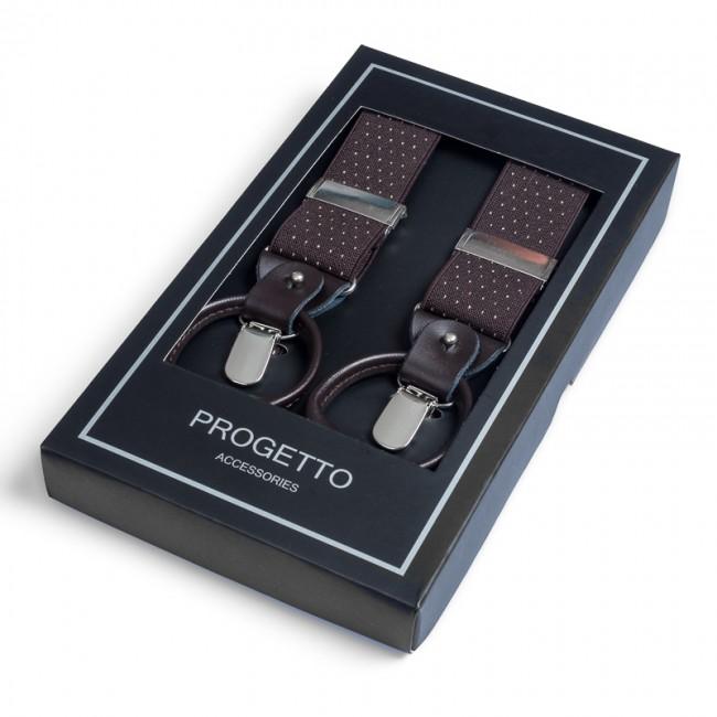 Bretels bruin khaki 0036| GENTS.nl | Hoogste kwaliteit voor de laagste prijs