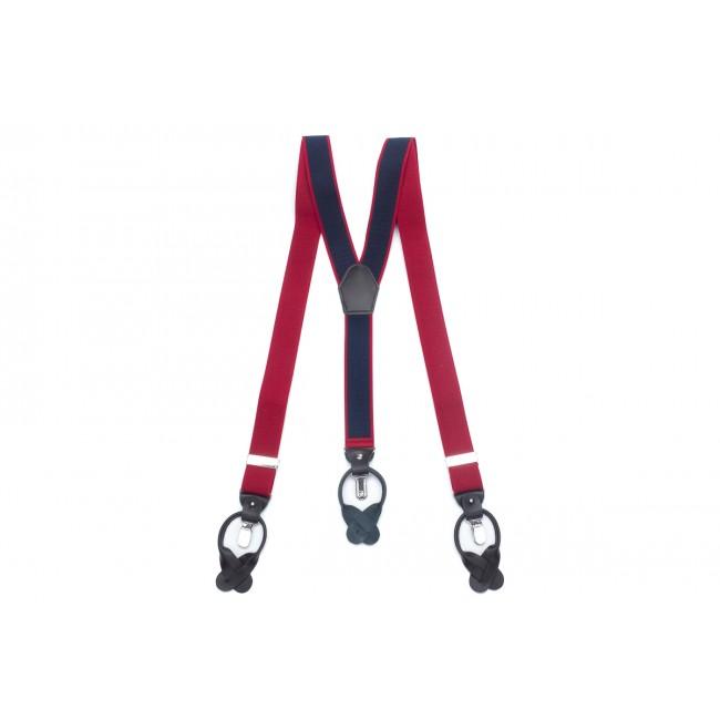 Bretels rood navy 0039| GENTS.nl | Hoogste kwaliteit voor de laagste prijs