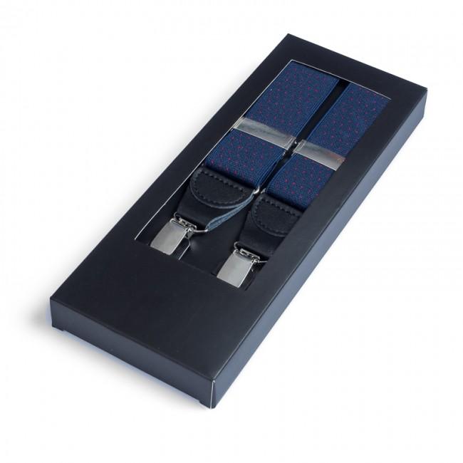 Bretels rood navy stip 0040| GENTS.nl | Hoogste kwaliteit voor de laagste prijs