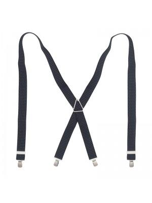 Bretels zwart wit stip 0044