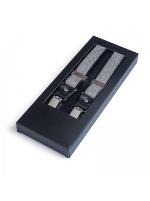 Bretels zilver 0048| GENTS.nl | Hoogste kwaliteit voor de laagste prijs