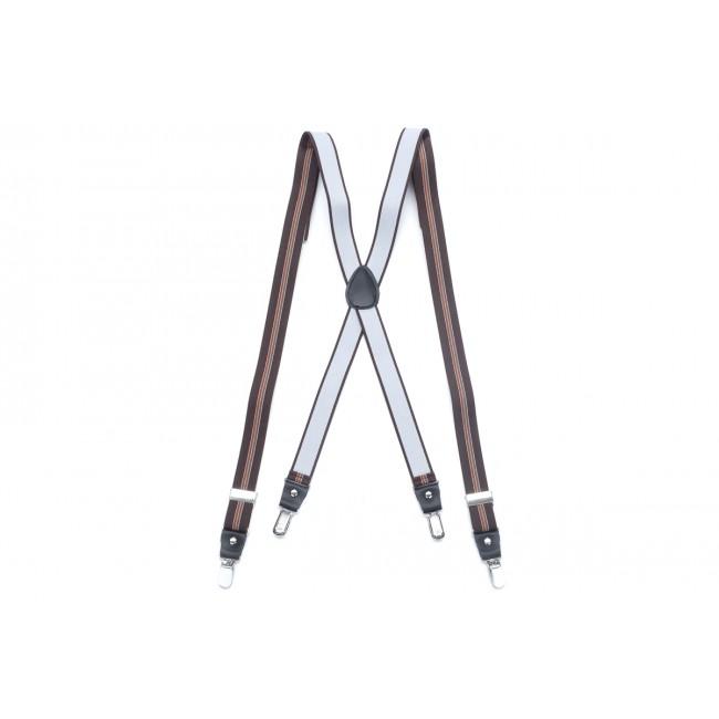 Bretels bruin 0053| GENTS.nl | Hoogste kwaliteit voor de laagste prijs