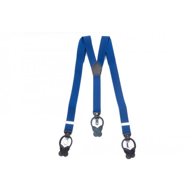 Bretels midden blauw 0059| GENTS.nl | Hoogste kwaliteit voor de laagste prijs