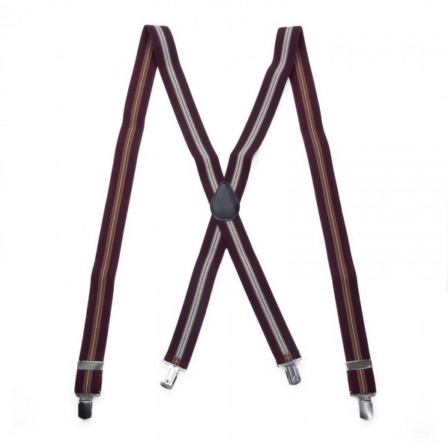 Bretels bordeaux bruin 0071| GENTS.nl | Hoogste kwaliteit voor de laagste prijs