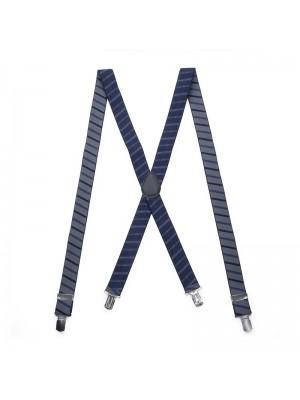 Bretels blauw gestreept 0072| GENTS.nl | Hoogste kwaliteit voor de laagste prijs