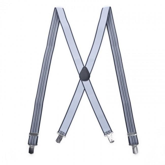 Bretels grijs patroon grijswit 0080| GENTS.nl | Hoogste kwaliteit voor de laagste prijs