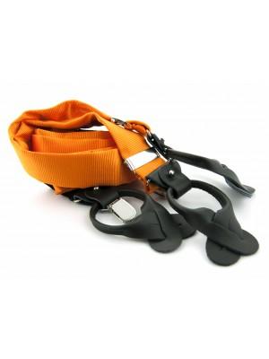 Bretels zijde oranje 0084| GENTS.nl | Hoogste kwaliteit voor de laagste prijs