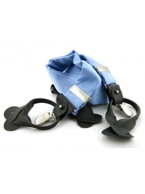 Bretels zijde lichtblauw 0085