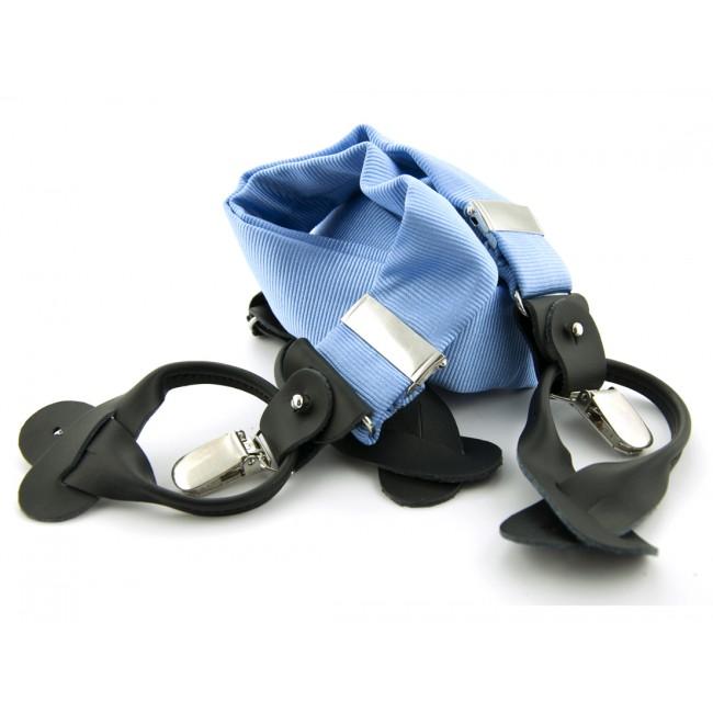 Bretels zijde lichtblauw 0085| GENTS.nl | Hoogste kwaliteit voor de laagste prijs