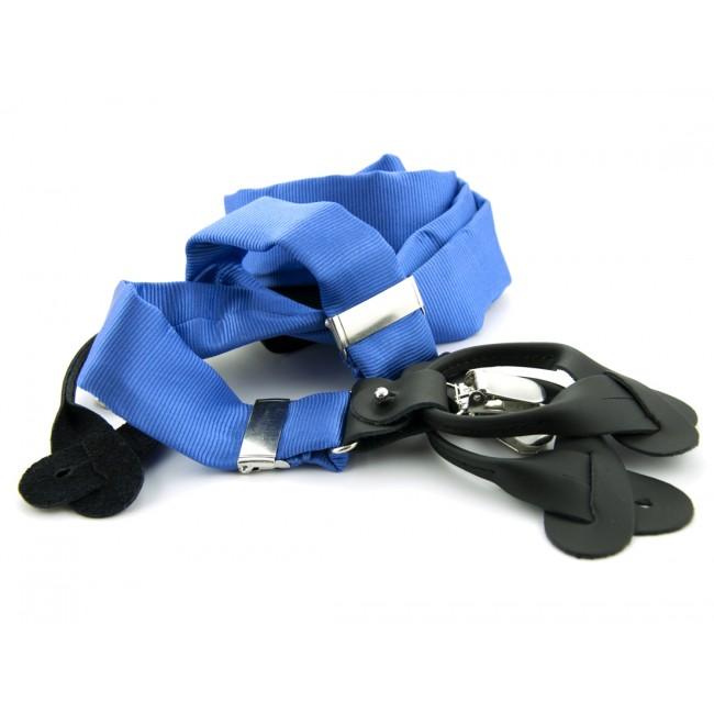 Bretels zijde midden blauw 0088| GENTS.nl | Hoogste kwaliteit voor de laagste prijs