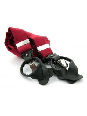 Bretels zijde midden rood 0091| GENTS.nl | Hoogste kwaliteit voor de laagste prijs