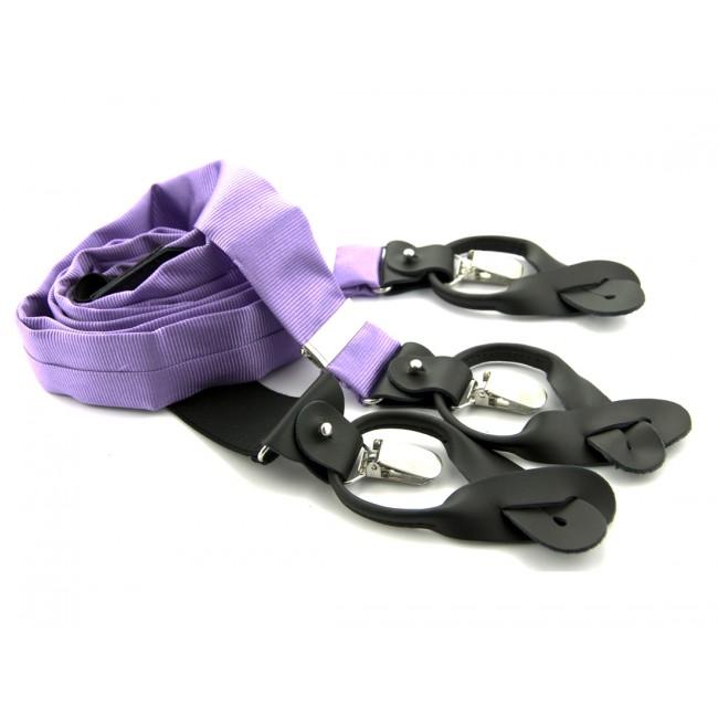 Bretels zijde lila 0093| GENTS.nl | Hoogste kwaliteit voor de laagste prijs