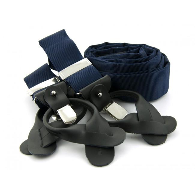 Bretels zijde navy 0095| GENTS.nl | Hoogste kwaliteit voor de laagste prijs